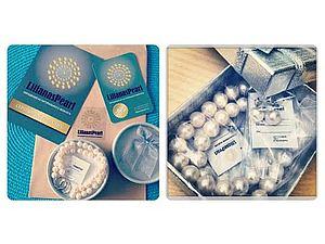 Упаковка жемчужных украшений LilianasPearl, сертификат и карта-скидка!   Ярмарка Мастеров - ручная работа, handmade
