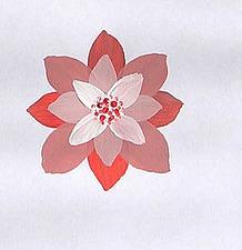 Рисуем многослойный цветок. Часть 2. Ярмарка Мастеров - ручная работа, handmade.
