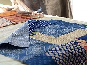 Лоскутная сумка-котомка | Ярмарка Мастеров - ручная работа, handmade