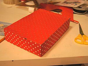 Красивая коробочка ( Мк в 2 частях). Ярмарка Мастеров - ручная работа, handmade.