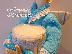 Шьем банного ангела (Хранитель ватных дисков и палочек). Часть 2. Ярмарка Мастеров - ручная работа, handmade.