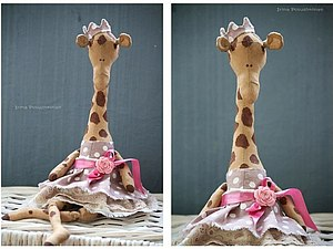 Мастер-класс авторский жираф | Ярмарка Мастеров - ручная работа, handmade