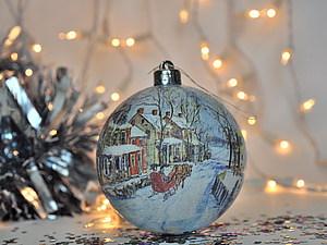 Пора наряжать ёлку! Скидки до 25% на новогодние шары в наличии! | Ярмарка Мастеров - ручная работа, handmade