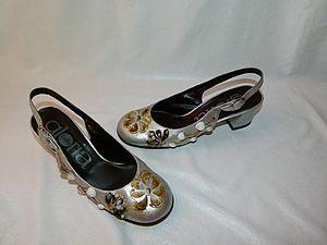 «Ракушки»: необычный декор туфель. Ярмарка Мастеров - ручная работа, handmade.