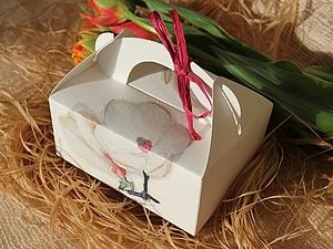 Декупаж- магия превращения крафт-коробок в подарочные!. Ярмарка Мастеров - ручная работа, handmade.