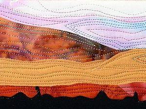 Текстильные почтовые открытки   Ярмарка Мастеров - ручная работа, handmade