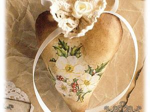 Винтажное Сердечко | Ярмарка Мастеров - ручная работа, handmade