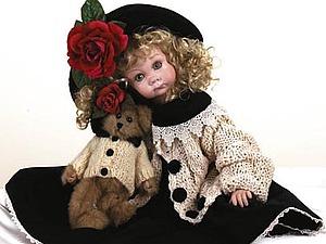 Маленькие леди   Ярмарка Мастеров - ручная работа, handmade