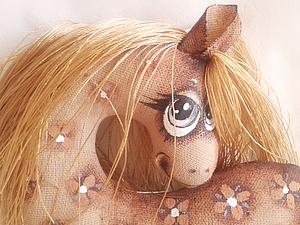 Текстильная лошадка - символ 2014 года   Ярмарка Мастеров - ручная работа, handmade