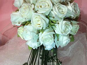 48Фото свадебный букет из фоамирана своими руками
