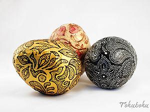 Изготовление яйца с сюрпризом.. Ярмарка Мастеров - ручная работа, handmade.