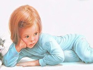 Жизнь детей в рисунках Марселя Марльера | Ярмарка Мастеров - ручная работа, handmade