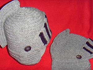 Вяжем рыцарскую шапку.   Ярмарка Мастеров - ручная работа, handmade