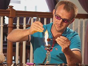 Видео мастер-класс: кулон-сова в технике лэмпворк. Ярмарка Мастеров - ручная работа, handmade.