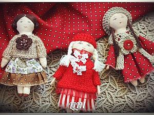 Первая серия кукол-брошек. | Ярмарка Мастеров - ручная работа, handmade