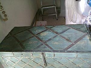 Есть у бабушки на даче очень старенький сундук... | Ярмарка Мастеров - ручная работа, handmade