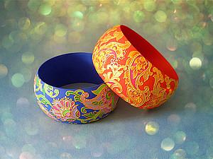 Новые браслеты с ручной росписью в моем магазине! | Ярмарка Мастеров - ручная работа, handmade