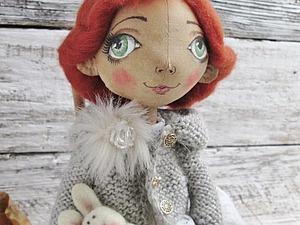 Видео мастер-класс: роспись лица текстильной куклы. Ярмарка Мастеров - ручная работа, handmade.