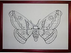 Имитация японской гравюры: рисуем на ткани. Ярмарка Мастеров - ручная работа, handmade.