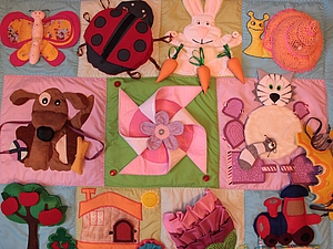 Новинка: развивающий коврик+ шнуровка+книжка!!! | Ярмарка Мастеров - ручная работа, handmade