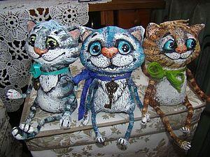 ЗАКРЫТ.Аукцион-2лота-кот и снова кот))) | Ярмарка Мастеров - ручная работа, handmade