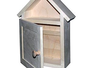 Ключница-домик и коробка-подсвечник | Ярмарка Мастеров - ручная работа, handmade