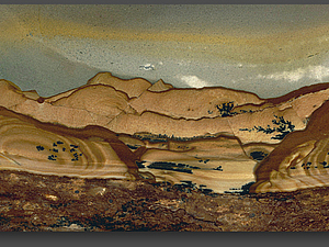 Пейзажная яшма: прекрасные картины, написанные самой природой. Ярмарка Мастеров - ручная работа, handmade.