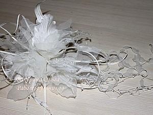 Цветы из ткани .Мастер-класс   Ярмарка Мастеров - ручная работа, handmade
