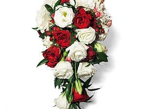 Скидка 20 % на букет невесты капля | Ярмарка Мастеров - ручная работа, handmade