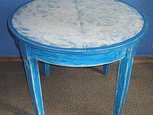 Перекрашивание старого стола. Ярмарка Мастеров - ручная работа, handmade.