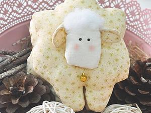 Мастер-класс  по Игрушке Tilda Барашек/снеговик  (на выбор)   Ярмарка Мастеров - ручная работа, handmade