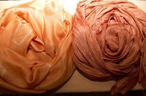 Узелковый батик и окраска натуральными красителями. Ярмарка Мастеров - ручная работа, handmade.