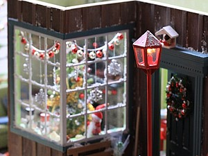 Рождественский румбокс, масштаб 1:12. Ярмарка Мастеров - ручная работа, handmade.