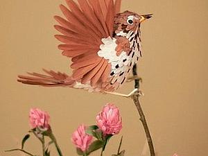Диана Белтран Херрера и её бумажные птицы. | Ярмарка Мастеров - ручная работа, handmade