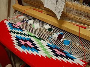 Ручное ткачество на весенней выставке Ладья - 2015 | Ярмарка Мастеров - ручная работа, handmade