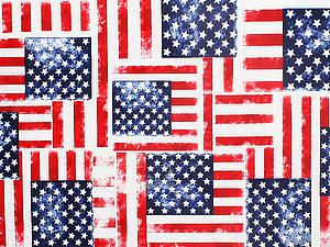 Новая коллекция американских хлопков с символикой США. | Ярмарка Мастеров - ручная работа, handmade