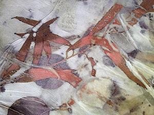 Семинар по натуральному крашению ( эко принт)- авторская техника крашения Елены Ульяновой. | Ярмарка Мастеров - ручная работа, handmade