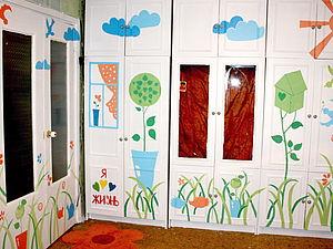 Сад в квартире: декорируем мебель. Ярмарка Мастеров - ручная работа, handmade.
