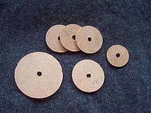 Делаем диски из оргалита для игрушек Тедди. Ярмарка Мастеров - ручная работа, handmade.