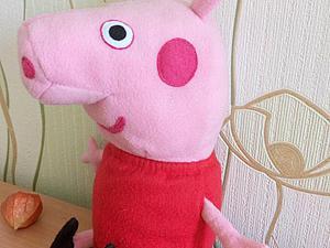 Шьем мягкую игрушку Свинку Пеппу. Ярмарка Мастеров - ручная работа, handmade.