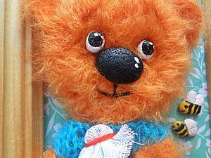 Медвежонок и пчелы) Новые работы во втором магазинчике   Ярмарка Мастеров - ручная работа, handmade
