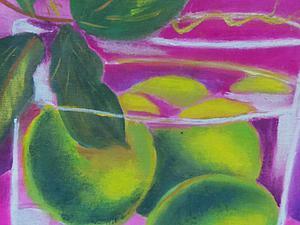 «Взрыв цвета»: создаем яркую картину на ткани. Ярмарка Мастеров - ручная работа, handmade.