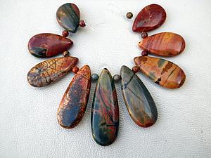 Осень в камне | Ярмарка Мастеров - ручная работа, handmade