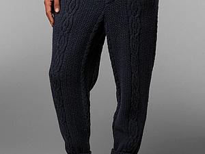 Вязаные брюки...быть или не быть | Ярмарка Мастеров - ручная работа, handmade