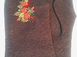 Варежки для прекрасной Леди   Ярмарка Мастеров - ручная работа, handmade