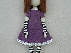 Мастер-класс: кукла по мотивам Suzanne Woolkott. Ярмарка Мастеров - ручная работа, handmade.