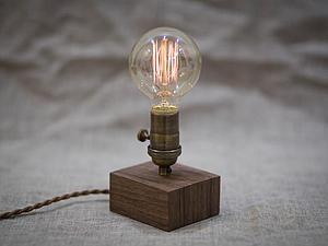 Запуск линии интерьерных светильников TwinsWood | Ярмарка Мастеров - ручная работа, handmade