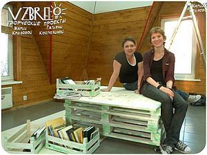 Как мы делали стол из деревянных палет. Ярмарка Мастеров - ручная работа, handmade.