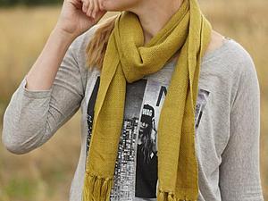 Домотканые шарфы. Часть 2. | Ярмарка Мастеров - ручная работа, handmade