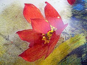 Китайская двухсторонняя вышивка | Ярмарка Мастеров - ручная работа, handmade